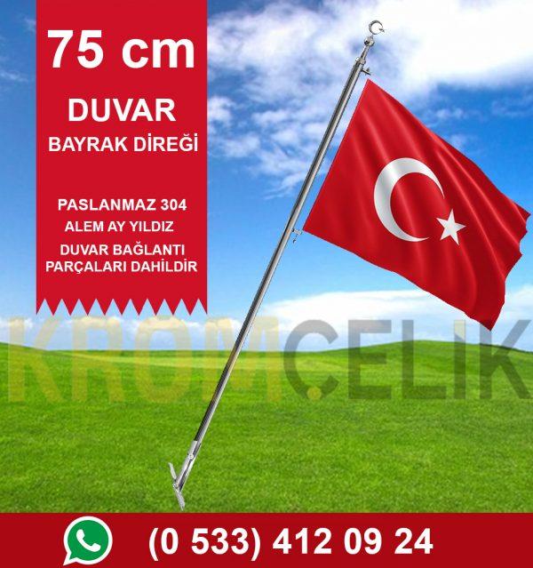 75cm Duvar Tipi Bayrak Direği