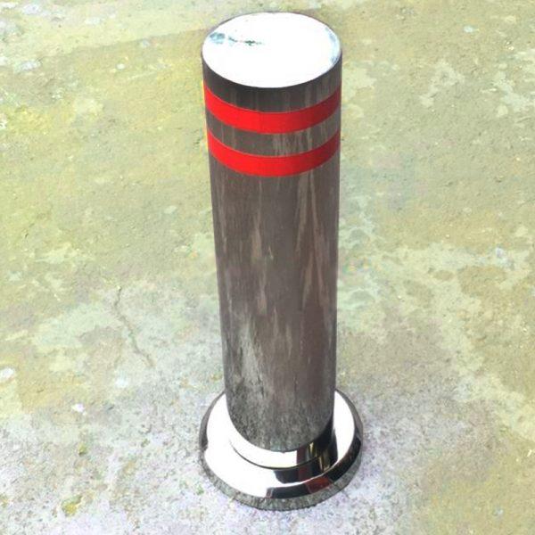 50 cm Paslanmaz Çelik Bariyer Duba Mantar Sabit